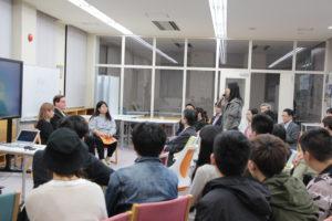 カナダ留学の成果を報告――派遣留学生報告会を開催
